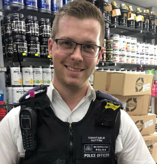 Pc Outten was attacked in August