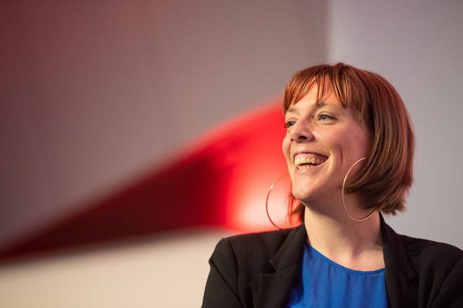 Jess Phillips announced she would support Ms Nandy