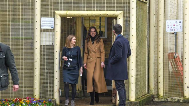 Kate was visiting inmates at HMP Send