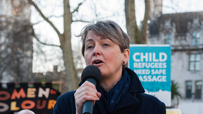 "Yvette Cooper said she was ""suspicious"" of the government"