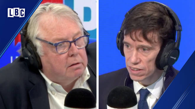 Nick Ferrari spoke to Rory Stewart in Ring Rory