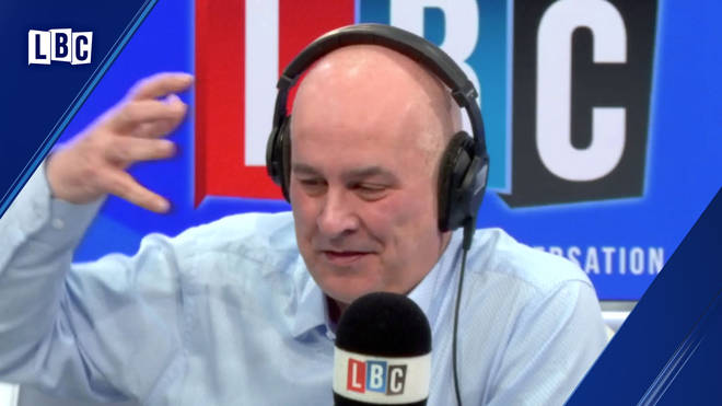 Iain Dale's conversation ended up in a row with Mr Harker