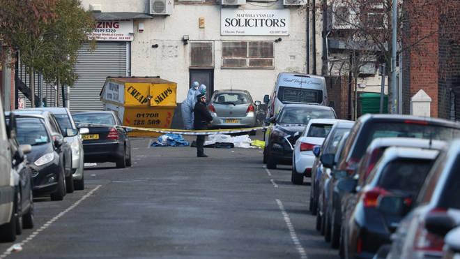Three men were knifed to death in a triple stabbing in Seven Kings in London
