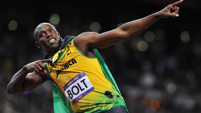 Bolt is set to become a dad for the first time
