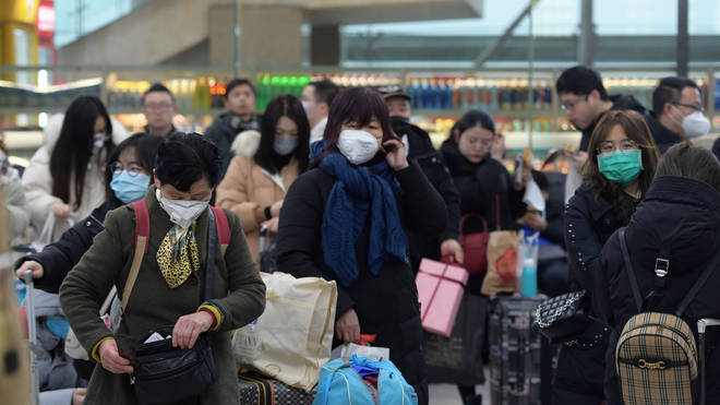 The virus has led to the lockdown of three Chinese cities