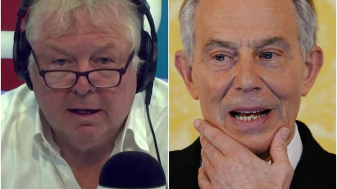 Nick Ferrari criticised Tony Blair's role in EU immigration