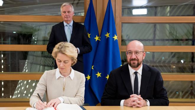 EU Chiefs sign off on Boris Johnson's Brexit deal