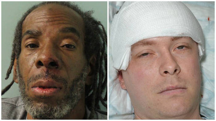 Convicted rapist who attacked cop with machete sentenced to 16 years in prison