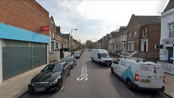 The baby was found on Sandringham Road in east London
