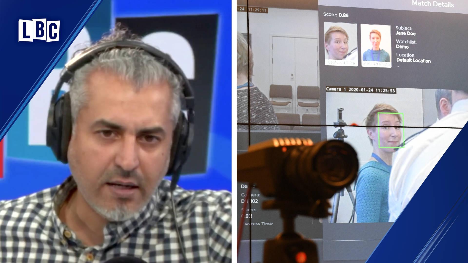 Maajid Nawaz's alarming monologue on the Met Police's facial recognition cameras