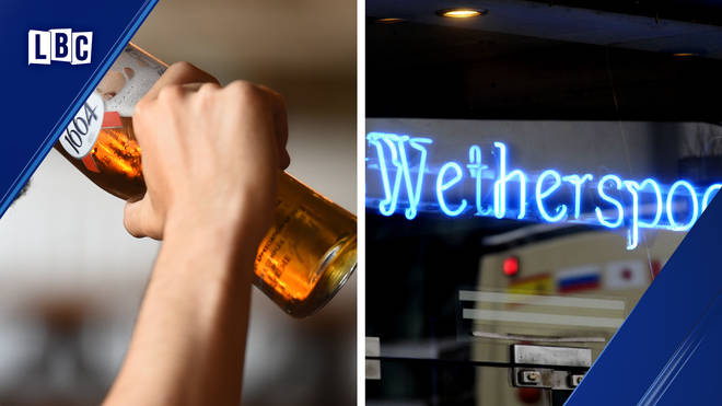 Parenting blogger criticises Wetherspoons 'two pints per parent' policy