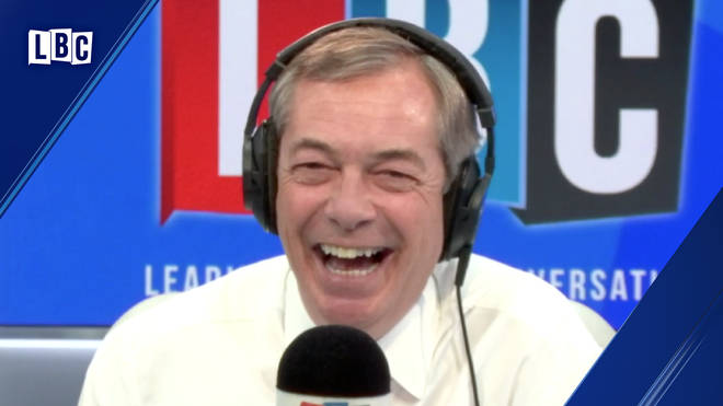 Finnish caller tells Nigel Farage why he's so jealous of Brexit