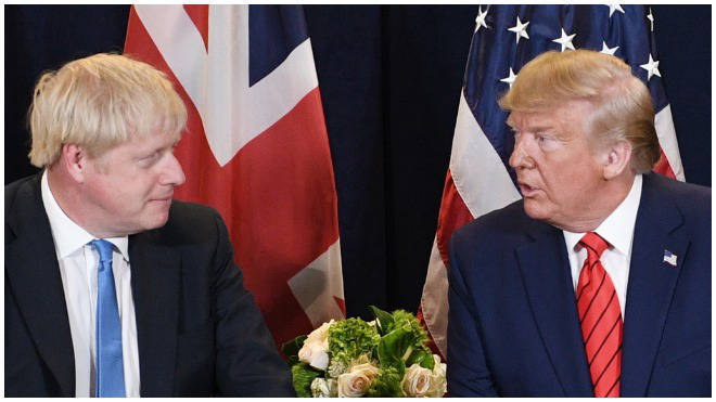 The UK and US have been at odds over the issue