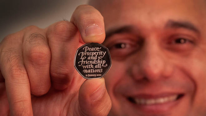 The new 50p coin will enter circulation on Friday