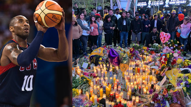 Tributes have been paid to basketball legend Kobe Bryant