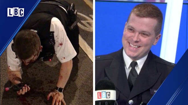 PC Stuart Outten was left with severe injuries after the machete attack