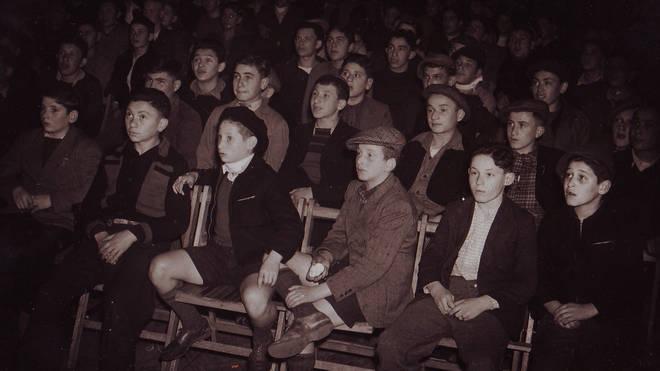 The boys in the cinema