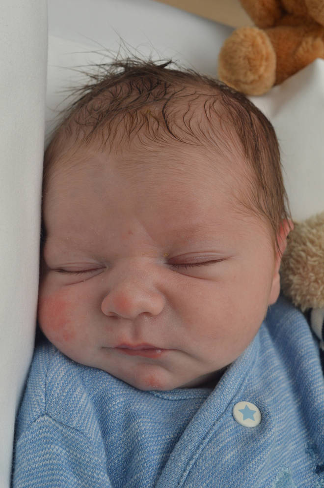 Baby Edward was found on a doorstep in east London