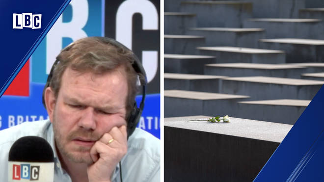 Caller tells James O'Brien astonishing story of how his parents hid from the Nazis