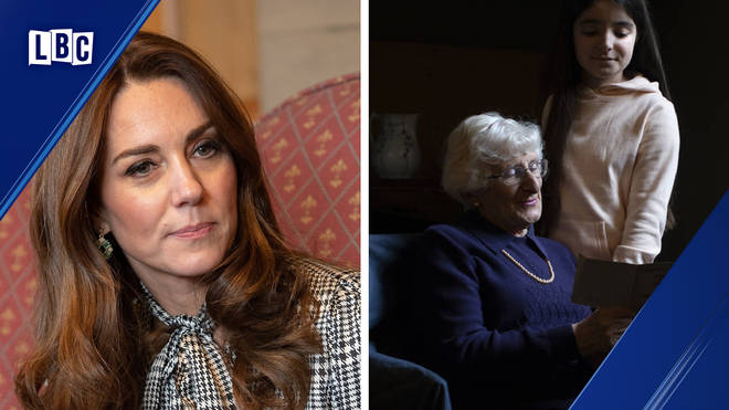 Kate Middleton photographed a series of images for the Holocaust