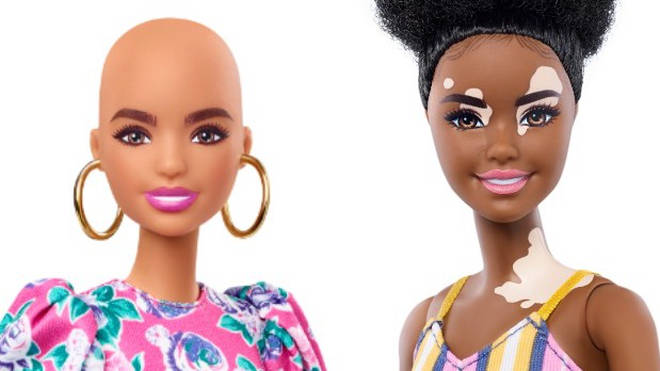 Mattel have launched the new dolls to increase diversity