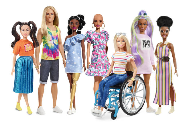 Mattel have dramatically increased diversity in its 'Fashionista' range