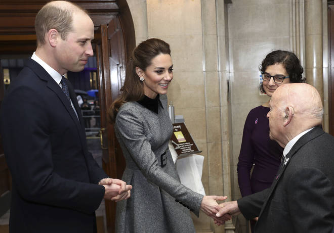 Prince William and Kate attend the Holocaust Memorial Day Commemorative Ceremony at Central Hall Westminster