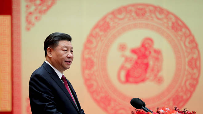 President Xi has said his government is stepping up efforts to tackle the virus