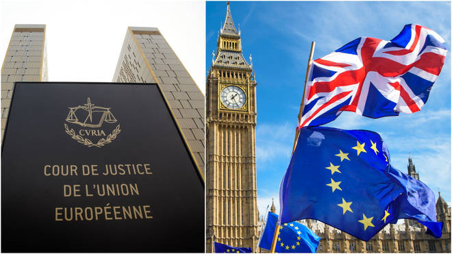 Luxembourg court would rule on UK trade rights
