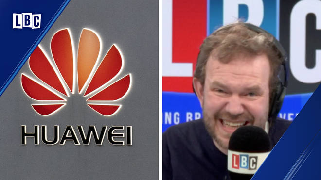 James O'Brien has a good-natured row over Huawei with a Brexiter