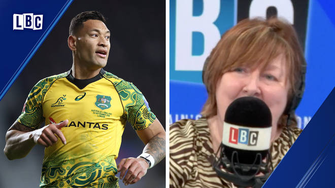 Israel Folau: Shelagh Fogarty makes an excellent point on the disgraced rugby player