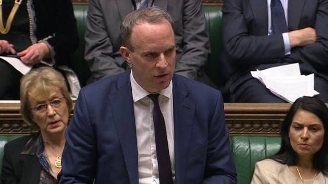 Foreign Secretary Dominic Raab has defended the government's position on Huawei