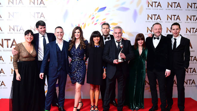 The Great British Bake Off won the award for Best Challenge Show