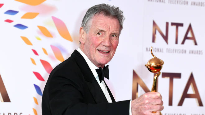 Sir Michael Palin won the Special Recognition award
