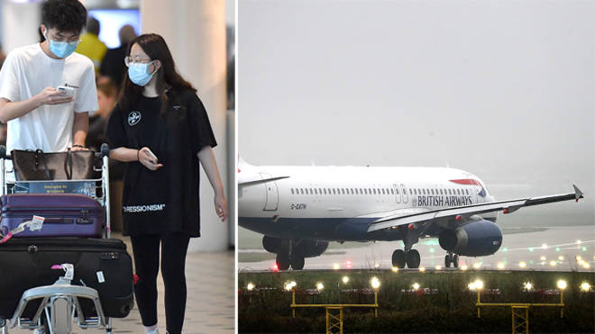 BA has suspended all flights to and from mainland China