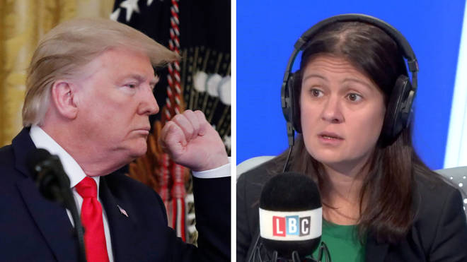 "Lisa Nandy labelled Donald Trump&squot;s Palestine proposal ""reckless"""