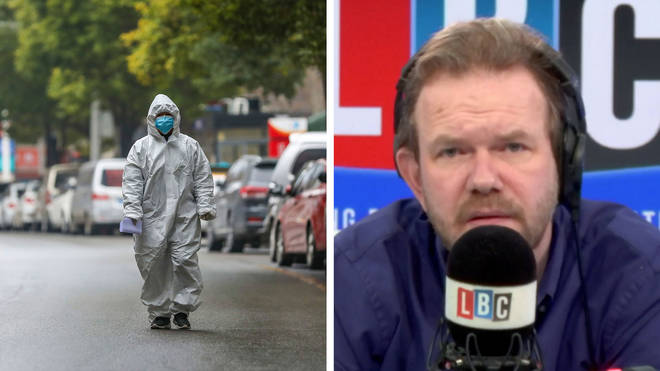 James O'Brien spoke to a resident of Wuhan to find out what it's like living there
