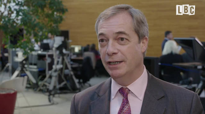 Nigel on his final day in the European Parliament building