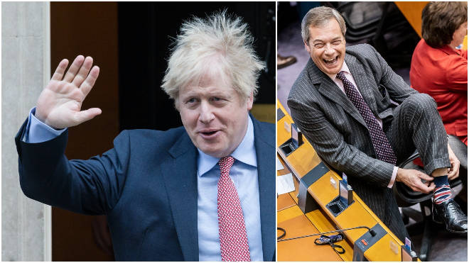 Boris Johnson's Brexit deal has been ratified by MEPs