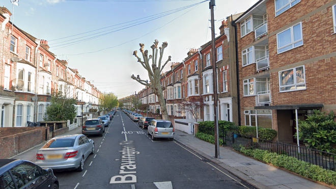 """A man is in a """"life-threatening condition"""" after a shooting on Bravington Road"""