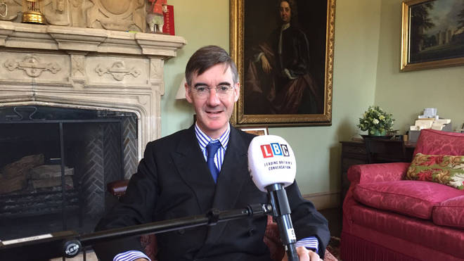Jacob Rees-Mogg live on LBC from Somerset