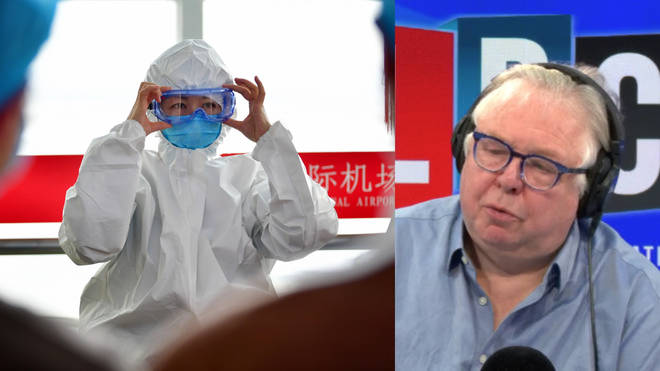 John Read told Nick Ferrari virus is only serious to vulnerable people