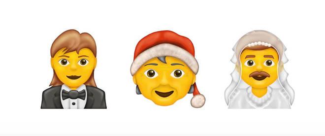 The general neutral emojis