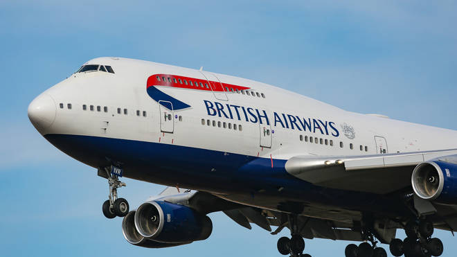 British Airways have reportedly cancelled all flights to mainland China for a month