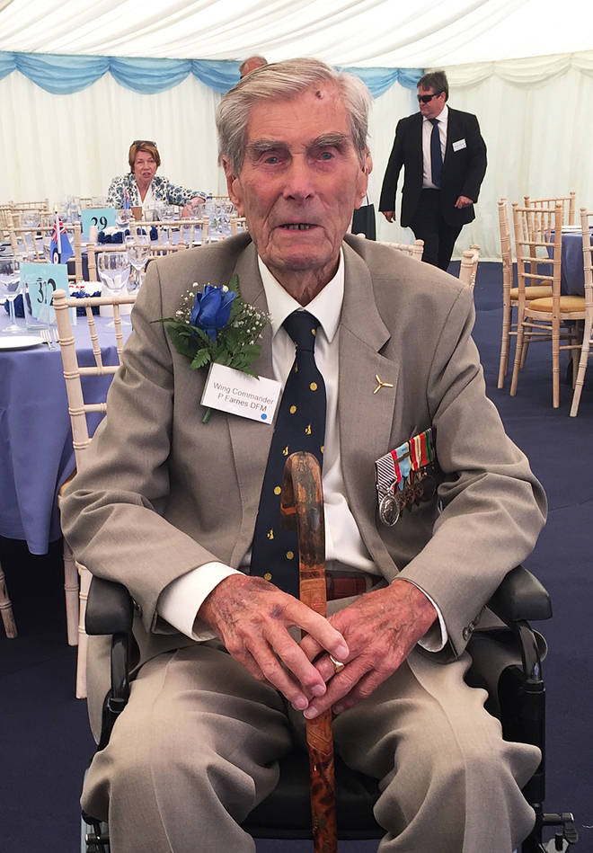 "W-Cmdr Paul Farnes was the last surviving ""ace"" who shot down six enemy planes"