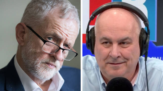 Iain Dale heard a number of callers who voted Tory because of Jeremy Corbyn