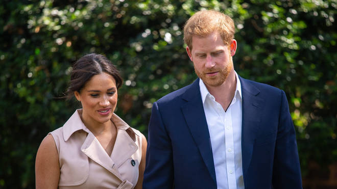 The royal couple criticised the press during their Africa tour