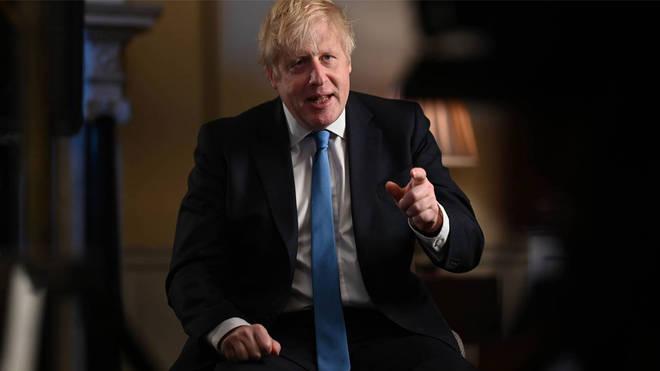 Boris Johnson addresses the nation as it leaves the EU