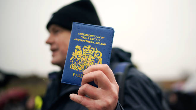 Britain's passport is due to change colour over the next few months
