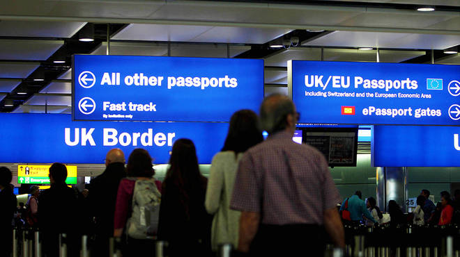 EU lines at airports no longer include British citizens